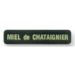 Etiquette (Boite de 1000) Saveurs - Miel de Chataigner