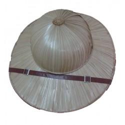 Chapeau colonial casque