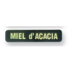 Etiquette (Boite de 1000) Saveurs - Miel d'Acacias