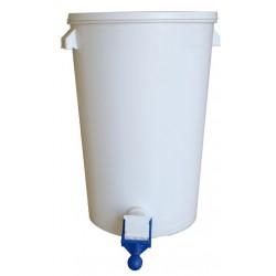Maturateur plastique 80 KG Capacite - 80 kg avec robinet perfection