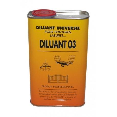 Diluant pour lasure Bidon de 0,5L