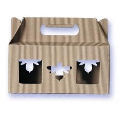 Présentoir carton 6x125gr